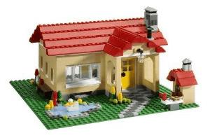 レゴの小さい家