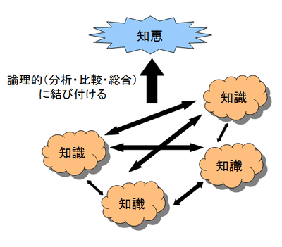 思考力に関する解説図